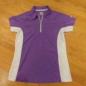 Slazenger Women's Stretch 1/4 Zip Shirt Small